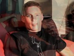 Twink video Sporty Straight Boy Hank