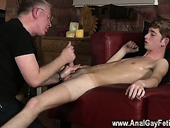 Gay cock Spanking The Schoolboy Jacob Daniels
