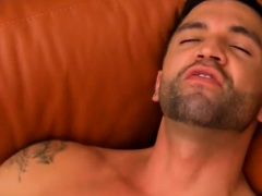 Free movie preview for gay porn Dominic works their eager fu