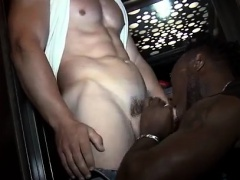 Old black dude fucks white boy and hot muscle men underwear