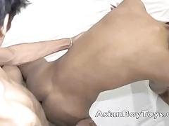 Asian twinks go anal