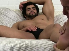 Horny boy gay sex stories Alpha-Male Atlas Worshiped