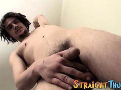 Straight twink guy Drift has a nice body and a great cock