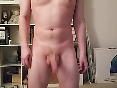 Flopping my cock