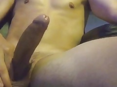 Soft to Hard Jerk til cum shot