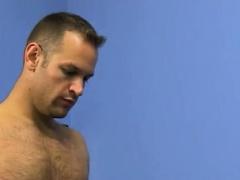 Naked muscular asian men gay xxx Daddy McKline works his nip