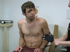 Medical bondage video emo gay One on the base and one toward