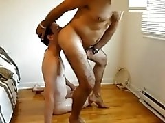 Submissive twink gets used with piss, facefucking, facial