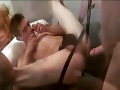 Seeding Twink's Asshole by Horny Dads