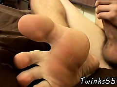Gay twink ass and dicks and feet movies Hot Cum Splashed Boy