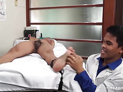 Doctor Tickles Alex