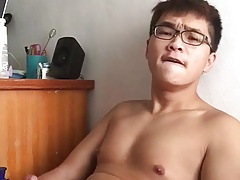 Asian Jerking, so sexy
