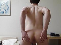 Young German Boy Stripping