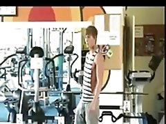 Condom hammering after gym
