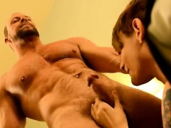 Sexy men Twink rent guy Preston gets an yam-sized bang when