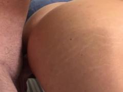 Butt fingered amateur