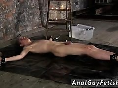 Porno gay male bondage and boy in bondage sex His stiffy is encaged and