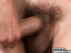 Punk Fro Deep Voice Boy Beats Off His Dick!