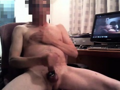 fairhair and her solo masturbation
