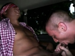Older straight male gay porn Riding Around Miami For Cock To