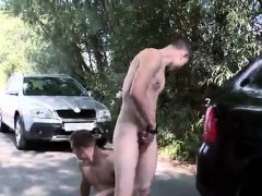 Straight street mexican gays porno Anal Fucking At The Publi
